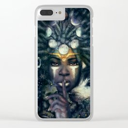 Lesser Light Clear iPhone Case