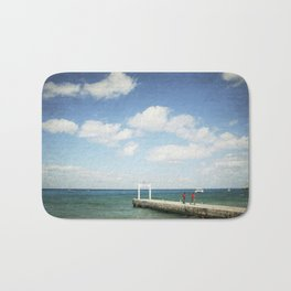 Carribean sea 7 Bath Mat