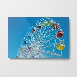 Carival Ferris Wheel Metal Print