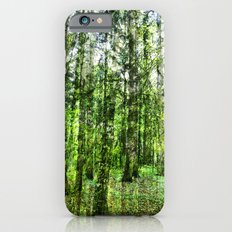 cannot see the wood for the trees iPhone 6s Slim Case