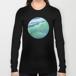 Teal Surf Long Sleeve T-shirt
