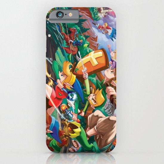 Zelda Mash Up iPhone & iPod Case