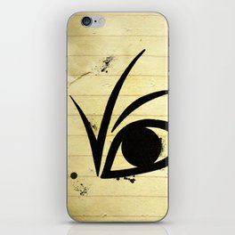 A SERIES OF UNFORTUNATE EVENTS EYE iPhone Skin