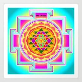 Shri Chakra Art Print
