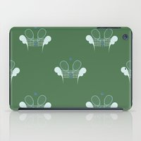 tennis iPad Cases featuring Tennis by S. Vaeth