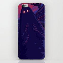 The Mothman iPhone Skin