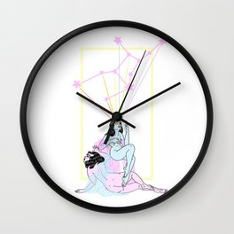 Virgo Wall Clock
