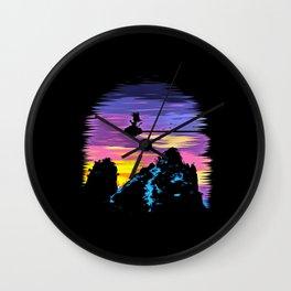 little goku Wall Clock