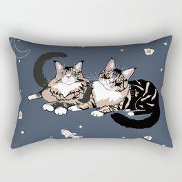 Space Cats Rectangular Pillow
