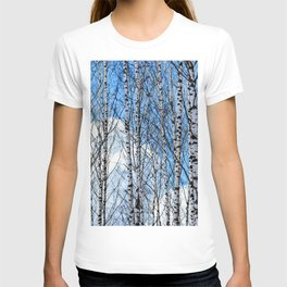 Birch Trees. Early Spring T-shirt