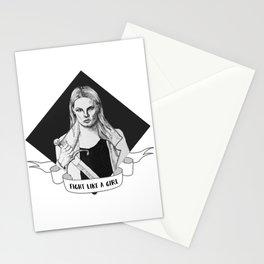 Emma Swan - Fight Like a Girl Stationery Cards