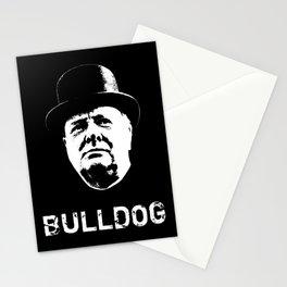 Bulldog - Winston Churchill Stationery Cards