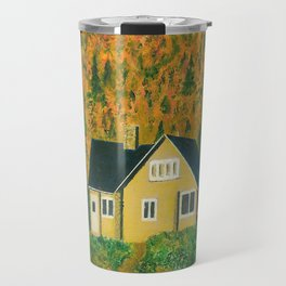 Maison jaune Travel Mug
