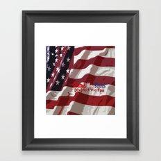 United We Stand! Framed Art Print