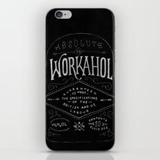 WORKAHOL iPhone Skin