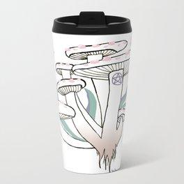 mushroom Metal Travel Mug