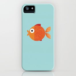 goldfish iPhone Case