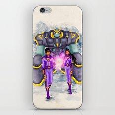 The Wonder Twins + Gleek iPhone & iPod Skin