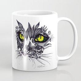Intense Cat Coffee Mug