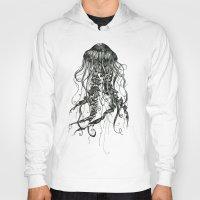 jellyfish Hoodies featuring Jellyfish by Aubree Eisenwinter