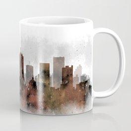 Dallas City Skyline Coffee Mug