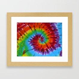 Tie Dye 004 Framed Art Print