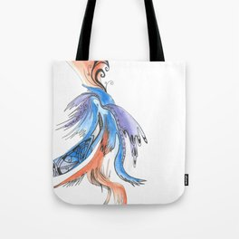 Patterns on Abstract Tote Bag