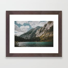 Rocky Mountains Framed Art Print