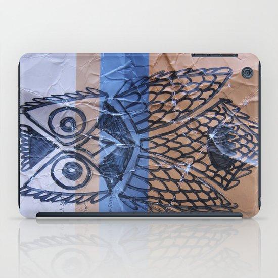 orange owl iPad Case