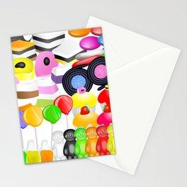 Tasty Candy Treats Stationery Cards