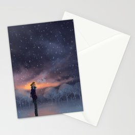 Ten Thousand Snowflakes Stationery Cards