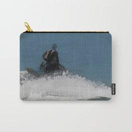Ready to Make Waves - Jet Skier Carry-All Pouch