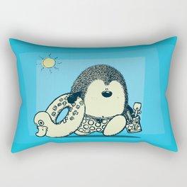to the beach! Rectangular Pillow