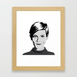 Pretty Twiggy Framed Art Print