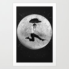 Black & White Collection -- Men Are From Mars Art Print