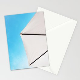 Minimalist Parasol Summer Stationery Cards