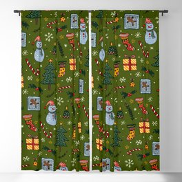 Christmas Party Blackout Curtain