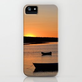 Peaceful Sunset • Pine Point iPhone Case