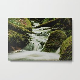Smoky waters Metal Print