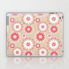 Coral Floral Laptop & iPad Skin