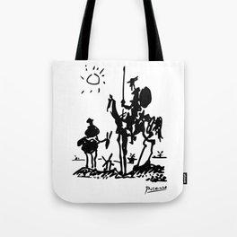 Pablo Picasso Don Quixote 1955 Artwork Shirt, Reproduction Tote Bag