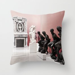 They're Sculpted Throw Pillow