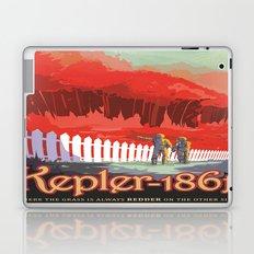 Kepler-186 : NASA Retro Solar System Travel Posters Laptop & iPad Skin