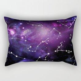 Constellations - Galaxy Zodiac Rectangular Pillow