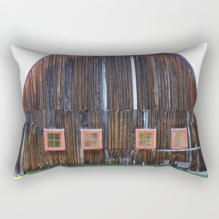 Big Ole Barn Rectangular Pillow