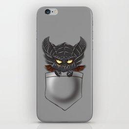 Dragon Pocket Tee iPhone Skin