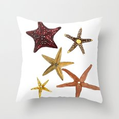 Ocean Treasures No.2 Starfish Throw Pillow