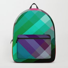 Rainbow 3 color Backpack