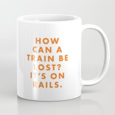 The Darjeeling Limited - How can a train be lost? It's on rails. Mug