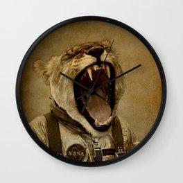 Space Roarrr Wall Clock
